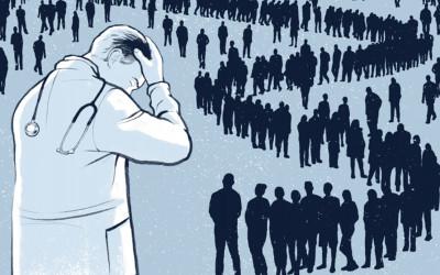 """Un interessante articolo pubblicato dalla rivista """"Pediatrics"""" sul tema del burnout tra i medici."""
